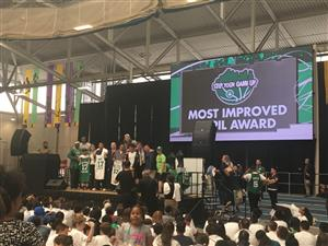Celtics Stay in School event
