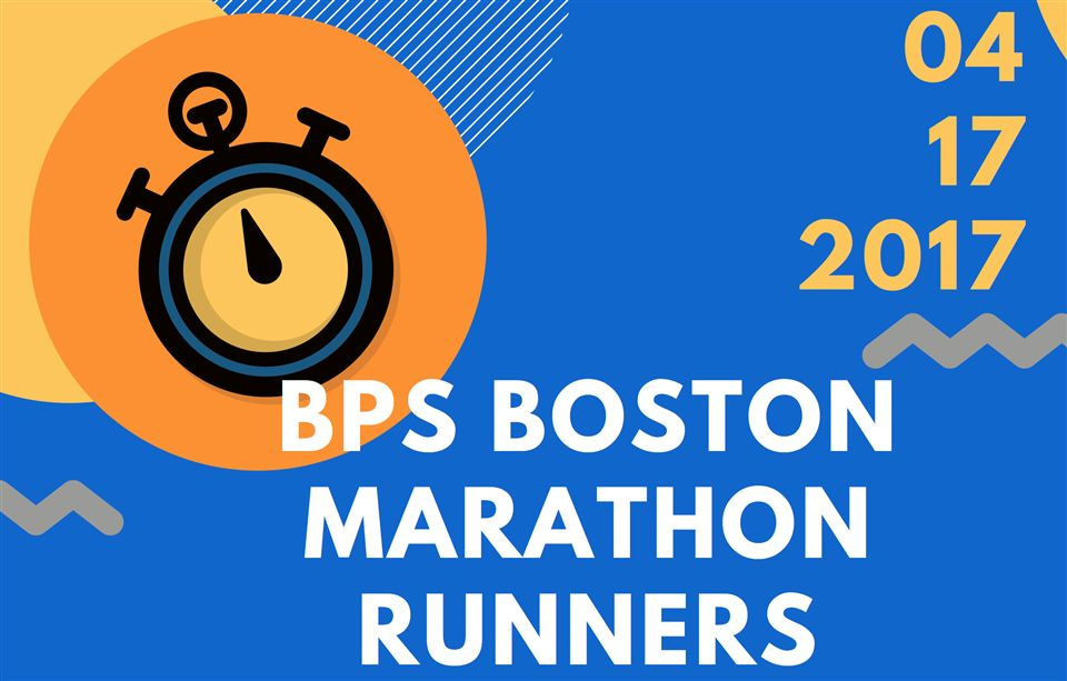 2017 BPS Boston Marathon Runners