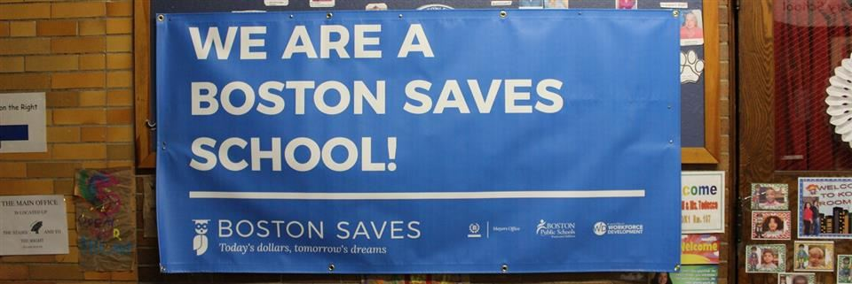 Boston Saves Banner