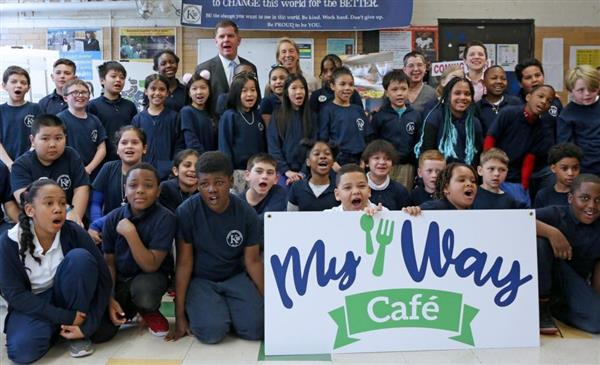 Boston's fresh, new My Way Cafe school lunch option featured in documentary