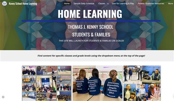 Kenny Home Learning Site