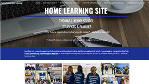 Home Learning Site Image