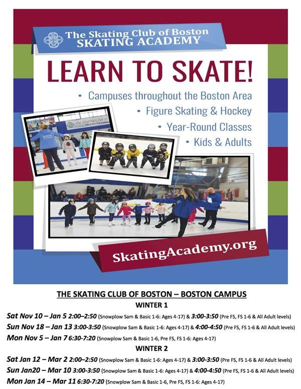 Learn to Skate!