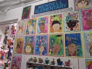 Mendell Art Exhibits