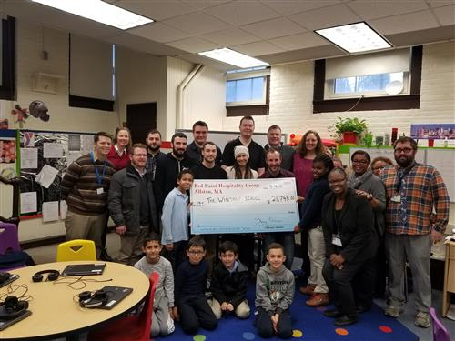 Red Paint Hospitality Donates $21,000 to the Winship