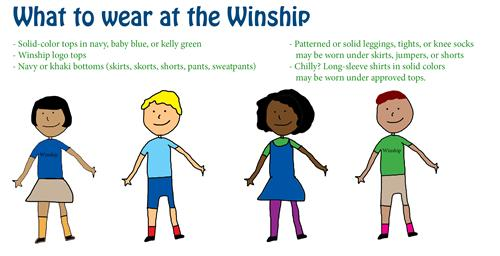 Winship School Uniform Policy