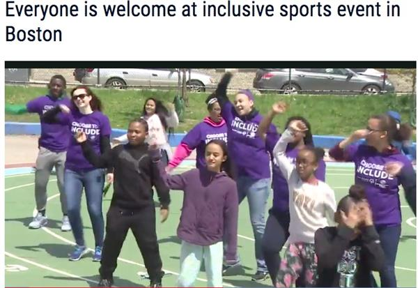 Boston Inclusive Community Sports Day