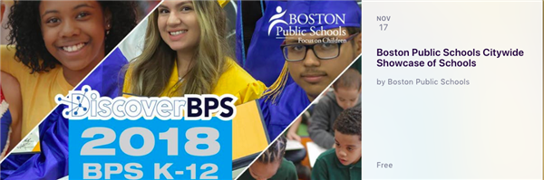 BPS Citywide Showcase of Schools