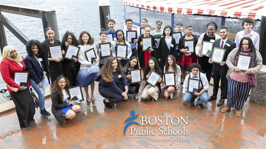 Mayor, School Committee and Superintendent Honor 35 Valedictorians From the Boston Public Schools Class of 2019