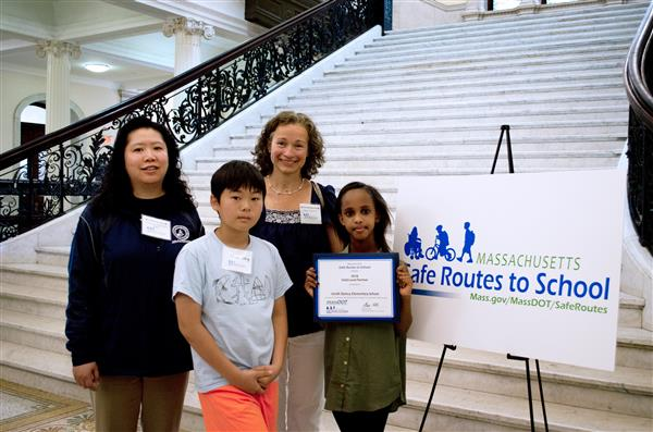 District Schools Receive State Awards for Safe Routes to School Boston Programs