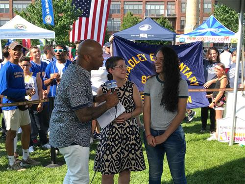 BPS Well Represented at Boston 25 News Zip Trip in East Boston