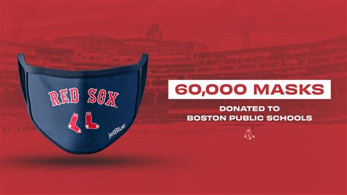 Boston Red Sox and Boston Pride Donate 60,000 Reusable Masks to BPS Students, Teachers