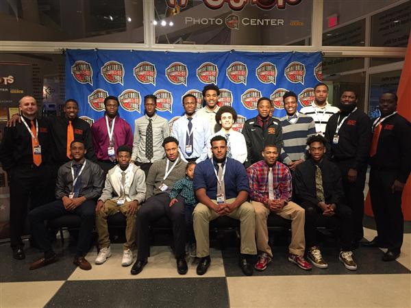 Brighton High School boys basketball team