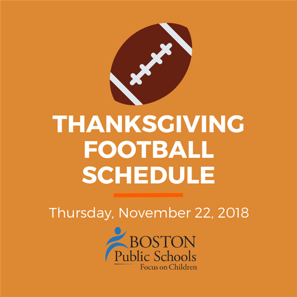 2018 Thanksgiving Football Graphic