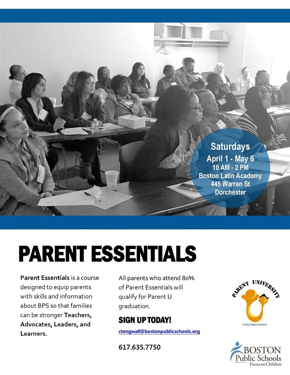 Flier - Parent Essentials