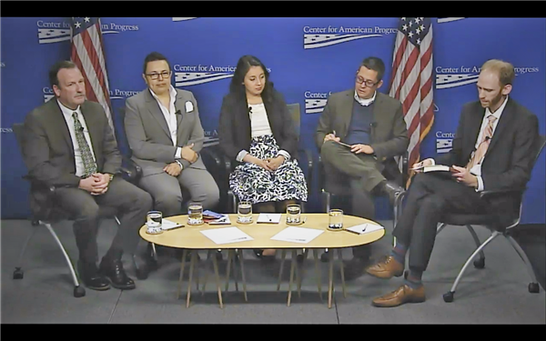 Dr Esparza Center for American Progress Undocumented Youth Talent Panel