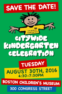 Citywide Kindergarten Celebration