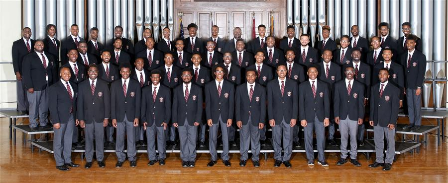 Photo of 2016 Morehouse Glee Club