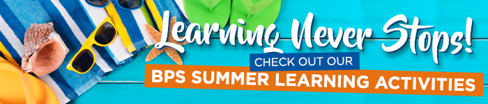 Summer Learning Activities Banner