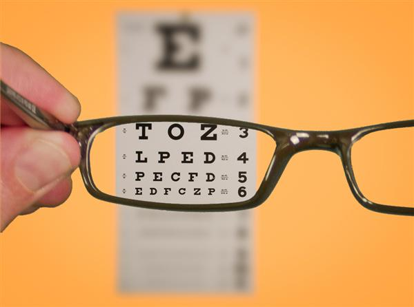 Photo 'Vision of Eyechart With Glasses' by Ken Teegardin licensed under CC BY-SA 2.0